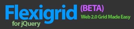 Flexigrid - Web 2.0 Javscript Grid for jQuery