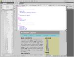 Dreamweaver CS4 CSS分割ビュー