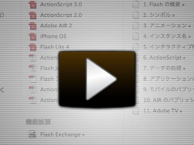 Flash CS5 TLFテキスト