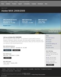 Adobe MAX 2008/2009