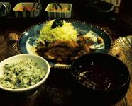 鶏の生姜焼き